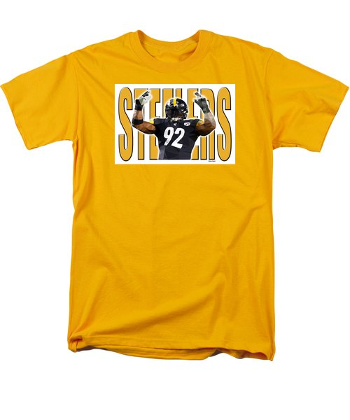 Pittsburgh Steelers Men's T-Shirt  (Regular Fit) by Stephen Younts