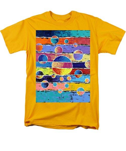 Planet System Men's T-Shirt  (Regular Fit) by Jeremy Aiyadurai