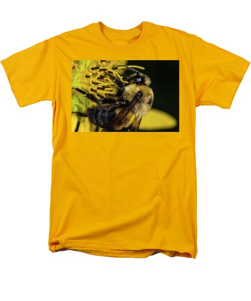 Men's T-Shirt  (Regular Fit) featuring the photograph Pollen Collector  by Jay Stockhaus