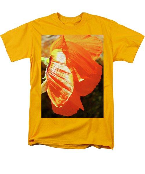 Poppy Profile - Beauty In The Garden Men's T-Shirt  (Regular Fit) by Brooks Garten Hauschild