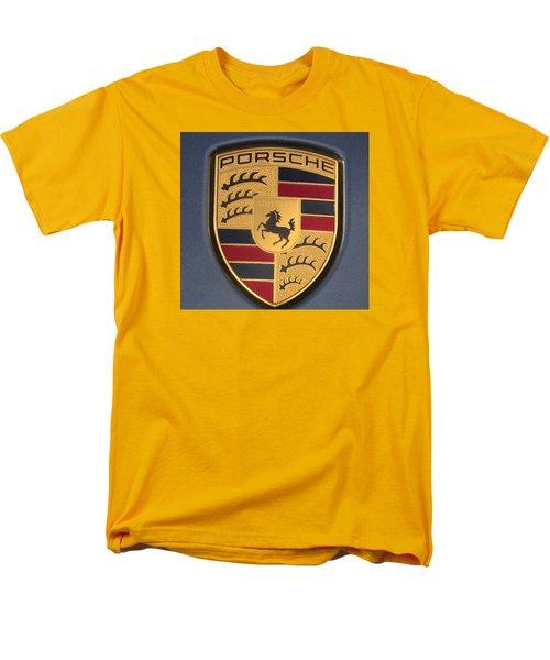 Porsche Emblem Men's T-Shirt  (Regular Fit) by Lingfai Leung