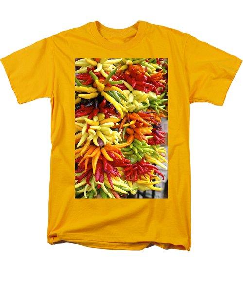 Public Market Peppers Men's T-Shirt  (Regular Fit) by Henri Irizarri