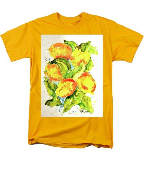Rainwashed Lemons Men's T-Shirt  (Regular Fit) by Lynda Cookson