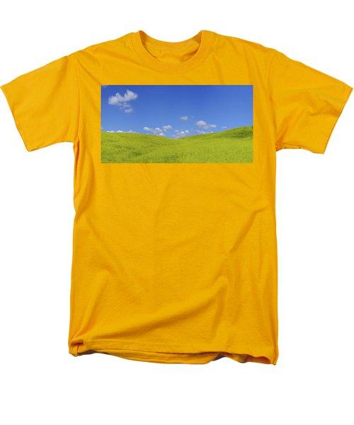 Rapeseed Landscape Men's T-Shirt  (Regular Fit) by Marius Sipa