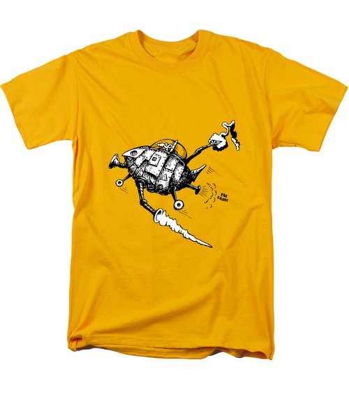Rats In Space Men's T-Shirt  (Regular Fit) by Kim Gauge