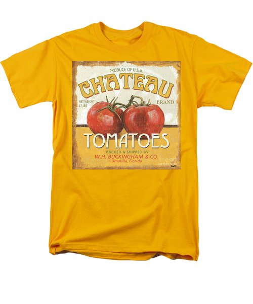 Retro Veggie Labels 4 Men's T-Shirt  (Regular Fit)