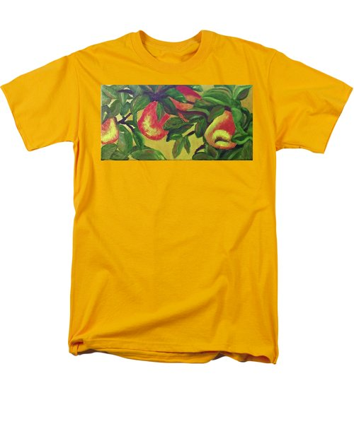 Ripe Pears On The Tree Men's T-Shirt  (Regular Fit) by Margaret Harmon