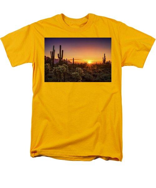 Men's T-Shirt  (Regular Fit) featuring the photograph Rise And Shine Arizona  by Saija Lehtonen