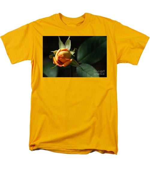 Rose Bud Men's T-Shirt  (Regular Fit) by Debra Crank