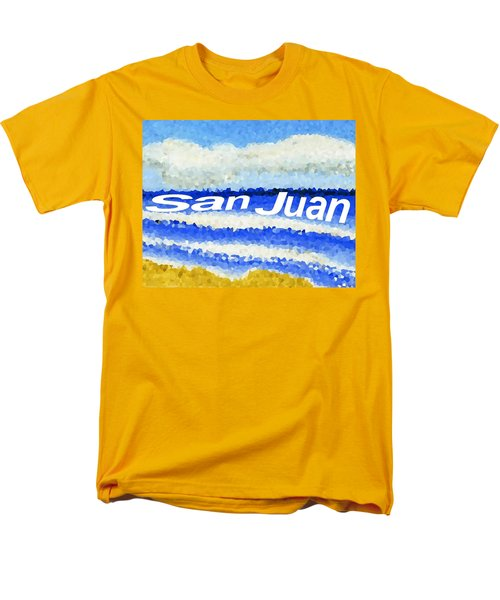 San Juan  Men's T-Shirt  (Regular Fit) by Dick Sauer