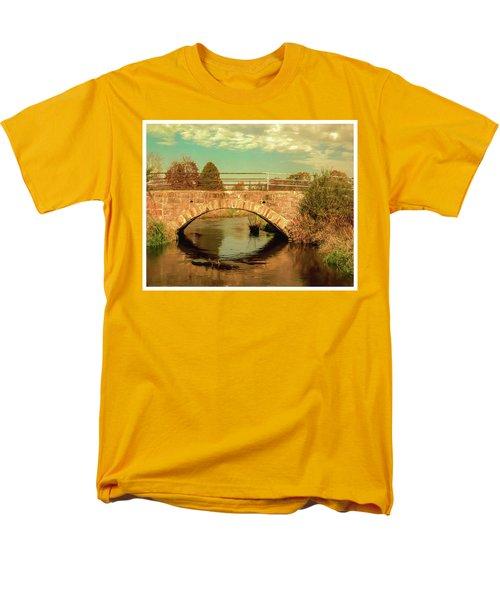 Scandinavia Stone Bridge 1 Men's T-Shirt  (Regular Fit) by Trey Foerster