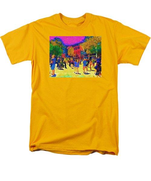 Seattle Street Scene Men's T-Shirt  (Regular Fit) by Kirt Tisdale