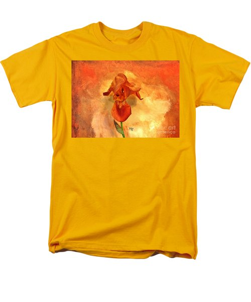 Shy Iris Men's T-Shirt  (Regular Fit)