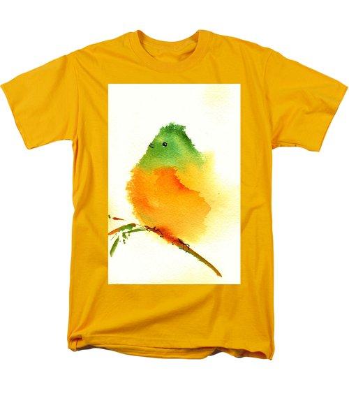 Silly Bird  #3 Men's T-Shirt  (Regular Fit) by Anne Duke