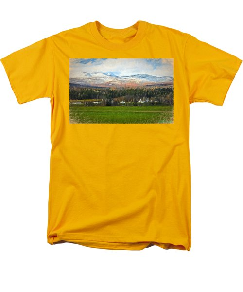 Snow On The Mountains Men's T-Shirt  (Regular Fit)