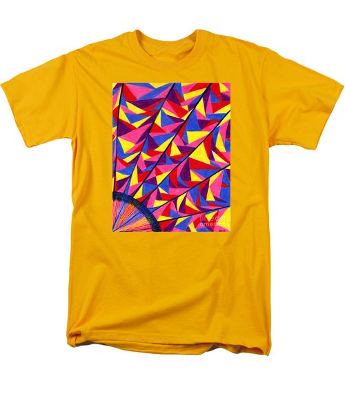 Men's T-Shirt  (Regular Fit) featuring the drawing Solar Fractals by Kim Sy Ok
