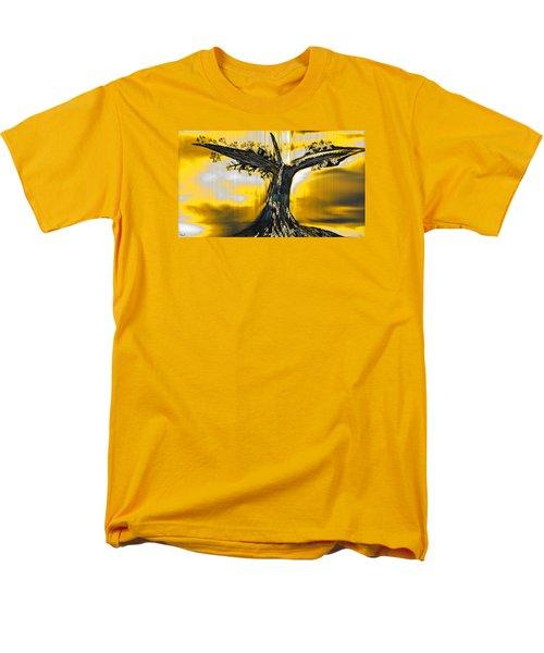 Solitude Men's T-Shirt  (Regular Fit) by Yul Olaivar