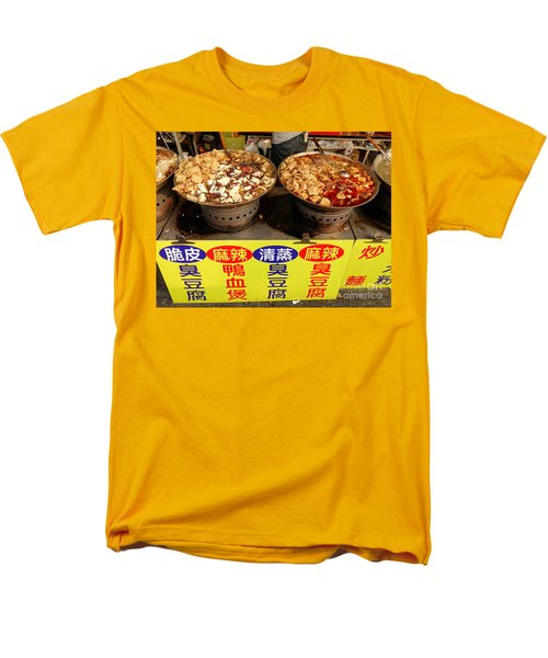 Men's T-Shirt  (Regular Fit) featuring the photograph Spicy And Herbal Hot Pot Food by Yali Shi