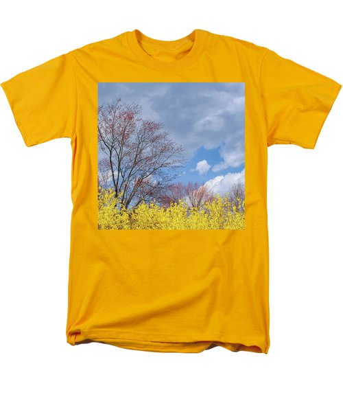 Men's T-Shirt  (Regular Fit) featuring the photograph Spring 2017 Square by Bill Wakeley