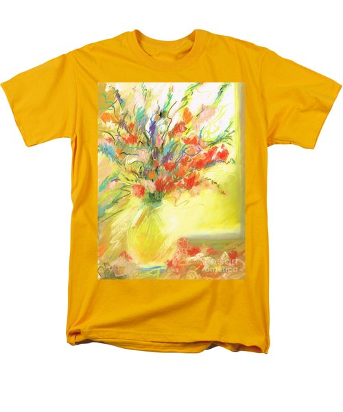 Men's T-Shirt  (Regular Fit) featuring the painting Spring Bouquet by Frances Marino