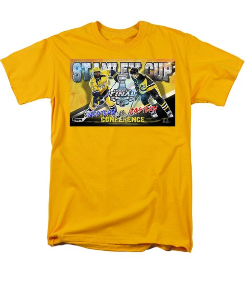 Stanley Cup 2017 Men's T-Shirt  (Regular Fit) by Don Olea