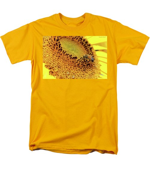 Sunflower 001 Men's T-Shirt  (Regular Fit) by Kevin Chippindall