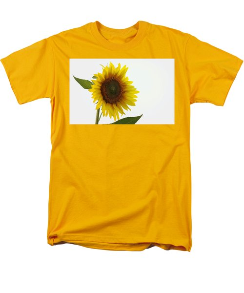 Sunflower Minimal Men's T-Shirt  (Regular Fit) by Joseph Skompski