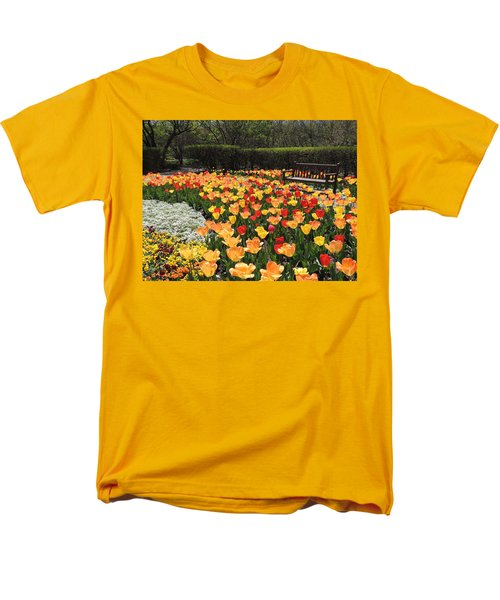Men's T-Shirt  (Regular Fit) featuring the photograph Sunny Days by Teresa Schomig