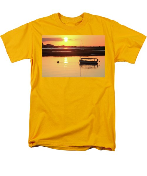 Sunrise At Bass River Men's T-Shirt  (Regular Fit) by Roupen  Baker