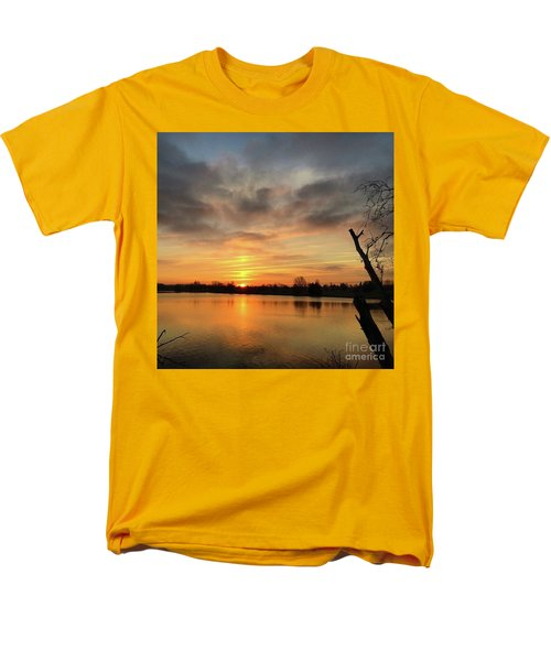 Sunrise At Jacobson Lake Men's T-Shirt  (Regular Fit) by Sumoflam Photography