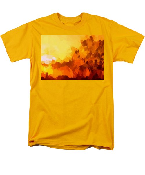 Sunset In Valhalla Men's T-Shirt  (Regular Fit)