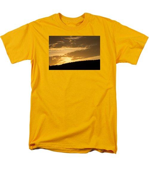 Sunset On Hunton Lane #4 Men's T-Shirt  (Regular Fit) by Carlee Ojeda
