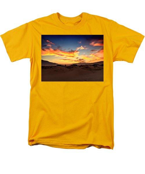 Sunset Over The Desert Men's T-Shirt  (Regular Fit) by Chris Tarpening