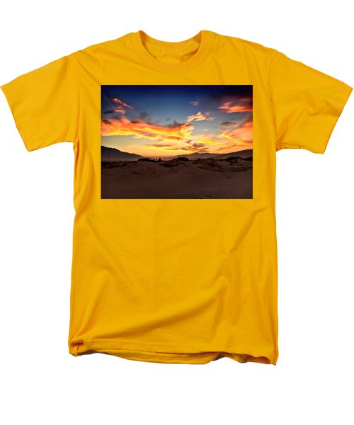 Sunset Over The Desert Men's T-Shirt  (Regular Fit)