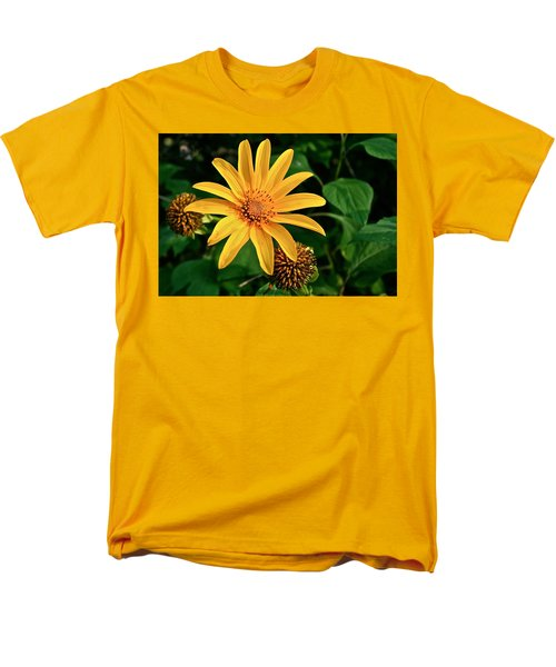 Sunshine Cheerleader Men's T-Shirt  (Regular Fit) by Kathleen Scanlan