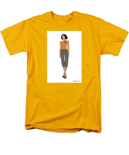Men's T-Shirt  (Regular Fit) featuring the digital art Susan by Nancy Levan