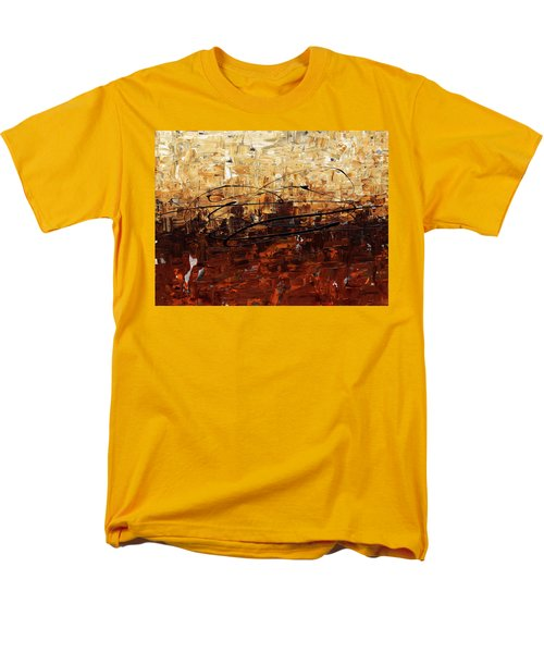 Men's T-Shirt  (Regular Fit) featuring the painting Symphony by Carmen Guedez