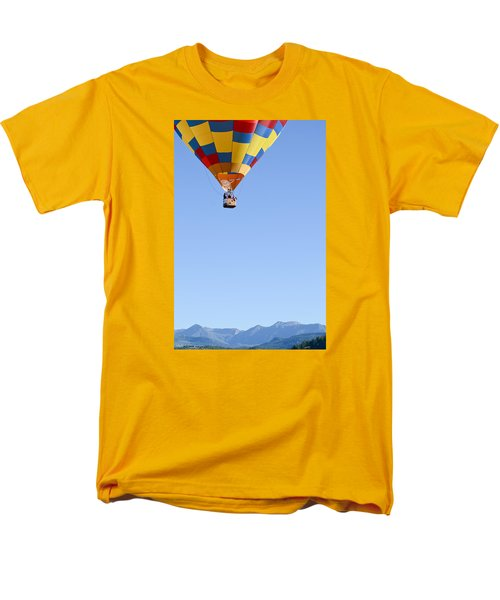 The Air Up There... Men's T-Shirt  (Regular Fit) by Kevin Munro