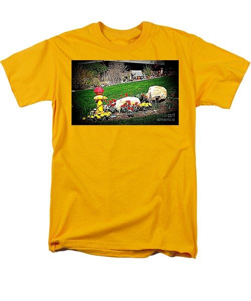 The Gardener Men's T-Shirt  (Regular Fit) by Richard W Linford