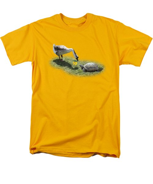 The Goose And The Turtle Men's T-Shirt  (Regular Fit) by Gravityx9   Designs