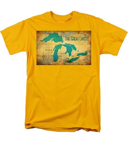 The Great Lakes Men's T-Shirt  (Regular Fit)