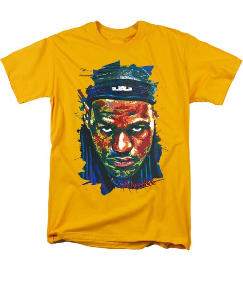 The Lebron Death Stare Men's T-Shirt  (Regular Fit) by Maria Arango