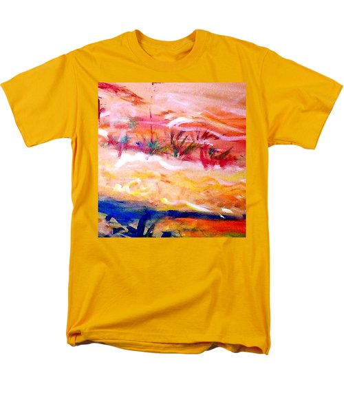 The Living Dunes Men's T-Shirt  (Regular Fit) by Winsome Gunning