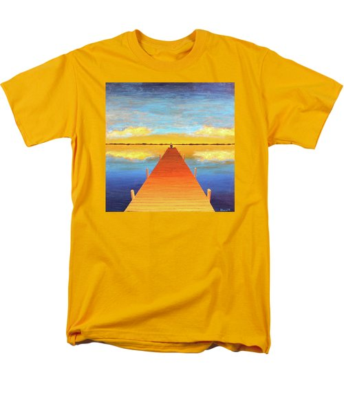 The Pier Men's T-Shirt  (Regular Fit) by Thomas Blood