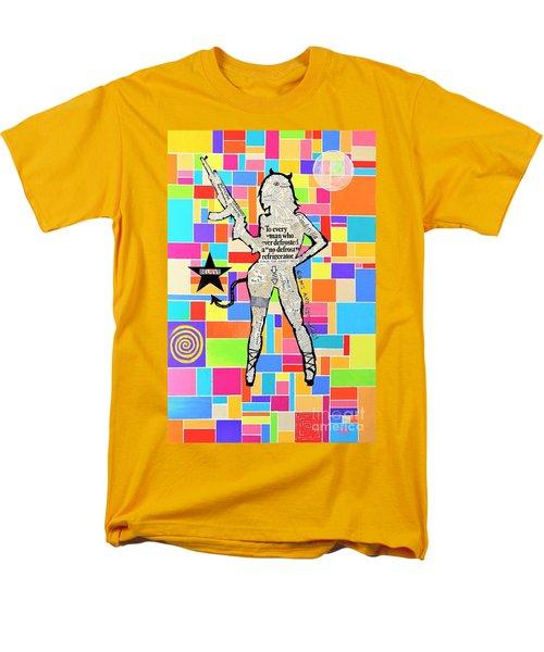 The Rebel Men's T-Shirt  (Regular Fit) by Jeremy Aiyadurai