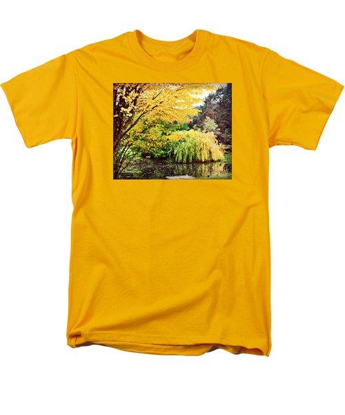 The Wayfarer Pond Men's T-Shirt  (Regular Fit) by Mindy Bench