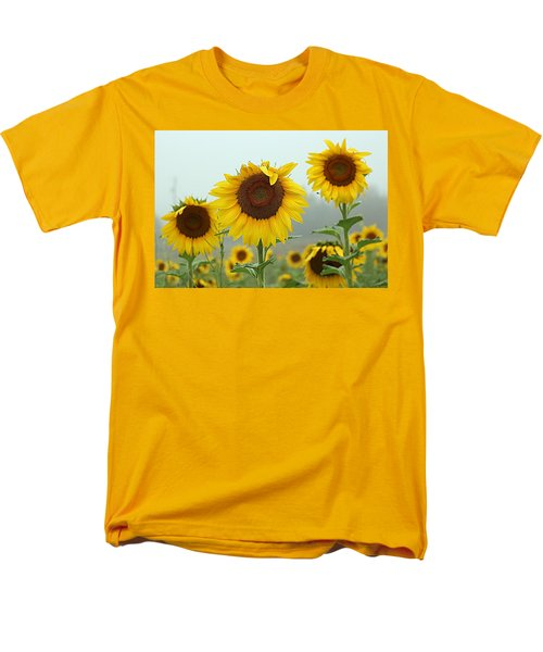 Three Amigos In A Field Men's T-Shirt  (Regular Fit) by Karen McKenzie McAdoo