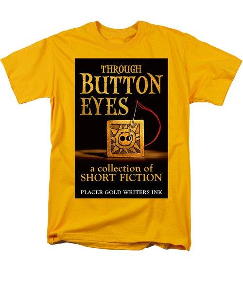 Through Button Eyes Men's T-Shirt  (Regular Fit) by Patrick Witz