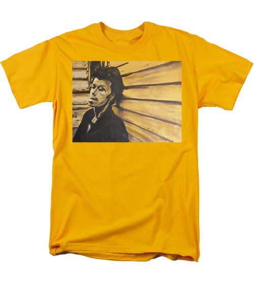 Tom Waits Men's T-Shirt  (Regular Fit) by Eric Dee