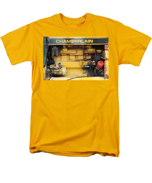 Men's T-Shirt  (Regular Fit) featuring the photograph Tractor Engine Iv by Stephen Mitchell